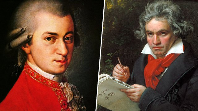 did bach and mozart meet beethoven