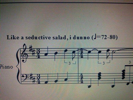 seductive salad meme