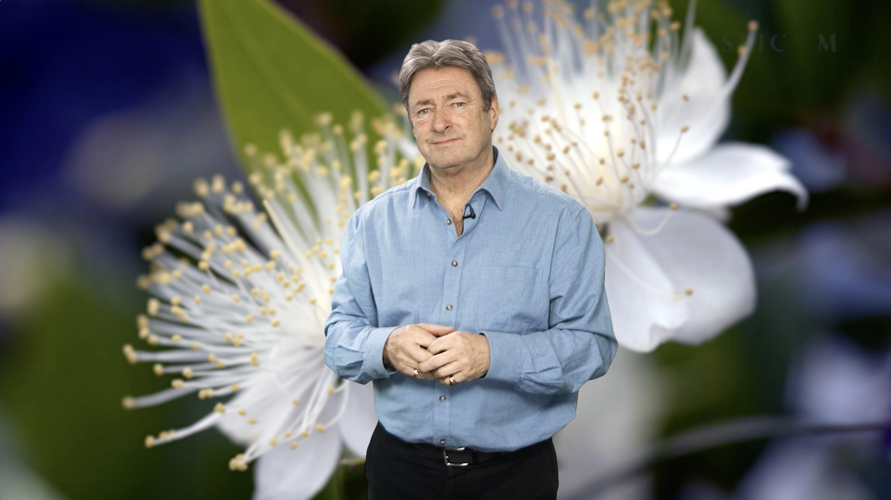 alan titchmarsh green screen