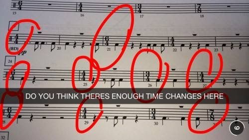 time signatures snapchat