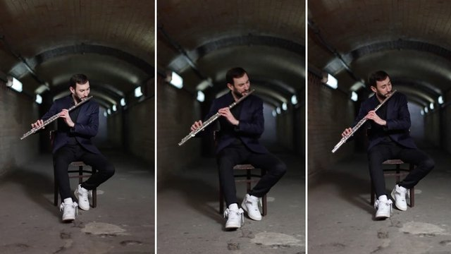 Beatboxing on flute *might* be the greatest thing ever