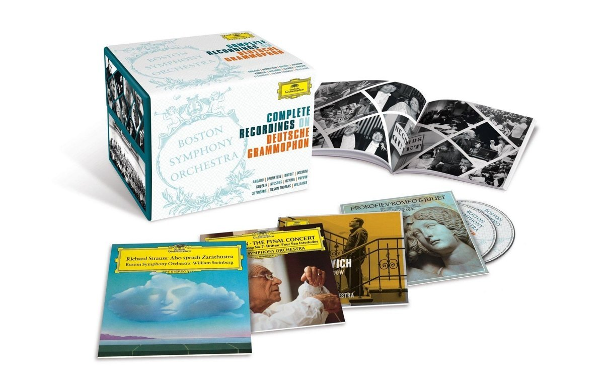 boston symphony complete recordings