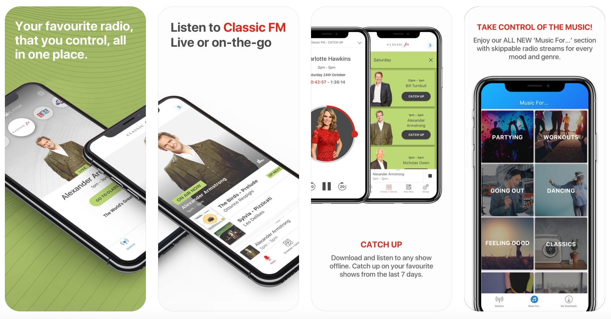 Get the Classic FM app, featuring stunning HD audio - Classic FM