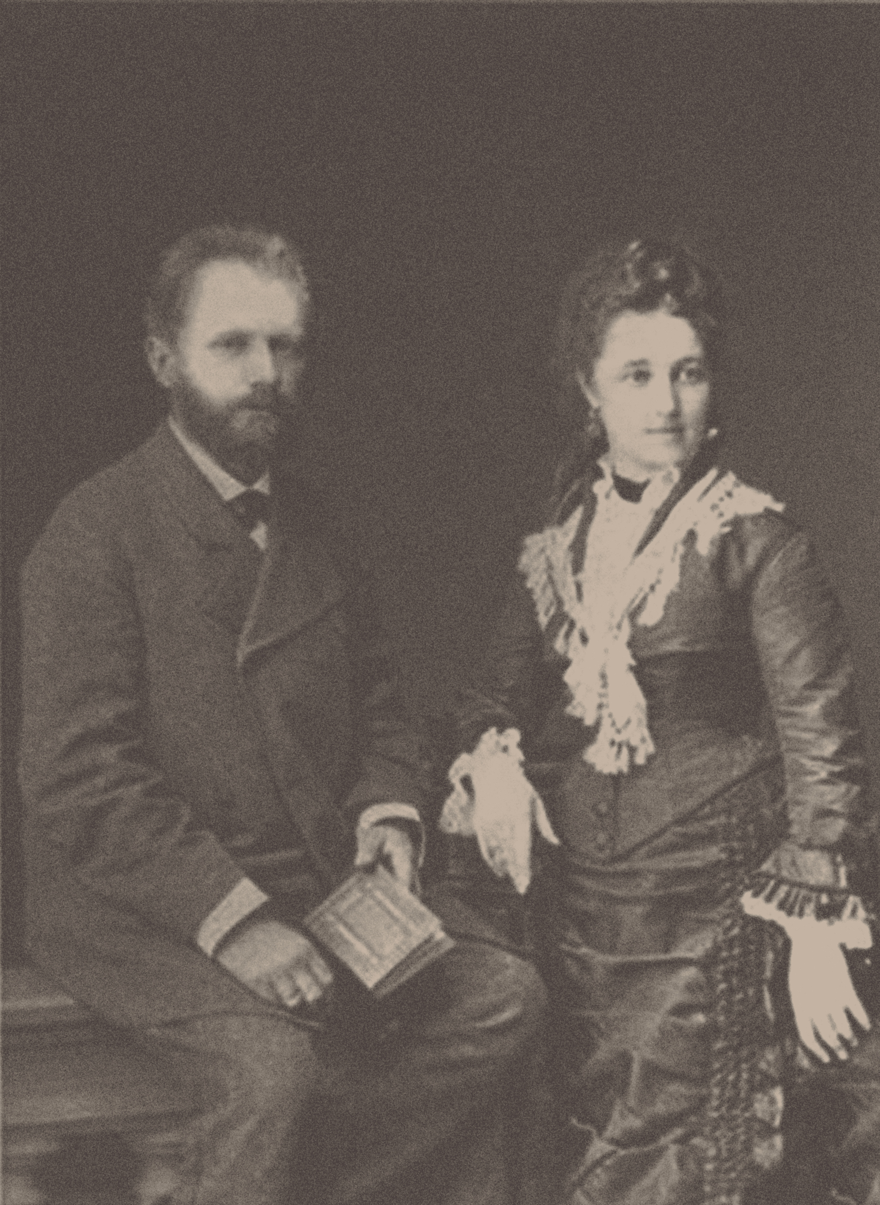 Tchaikovsky and his wife, Antonina Miliukova