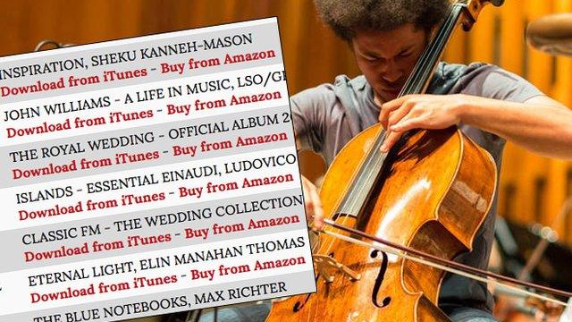 Classic FM Chart: Royal wedding cellist Sheku Kanneh-Mason jumps to
