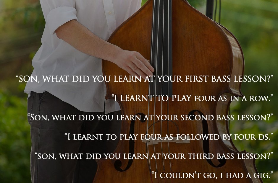 Double bass joke