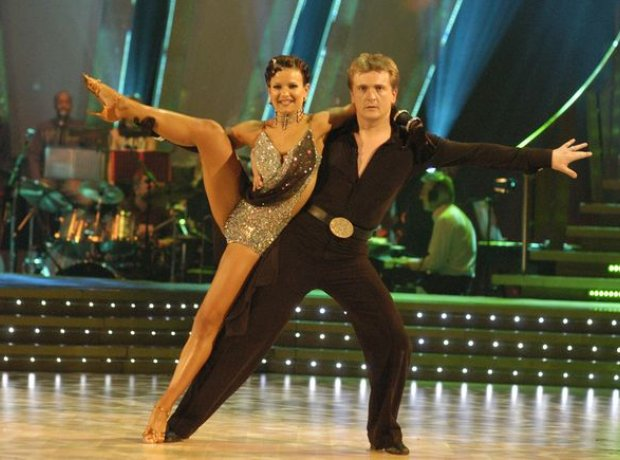 Aled Jones on Strictly Come Dancing