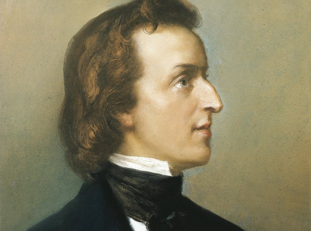 Chopin painting