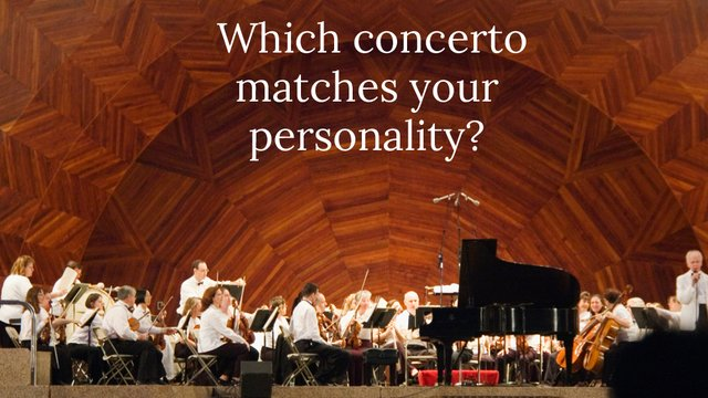 Quiz: which famous concerto are you?