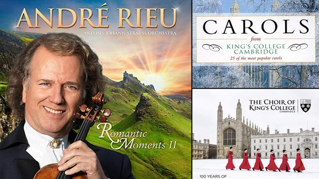 Classic FM Chart: André Rieu enters at No. 3 ahead of Christmas albums