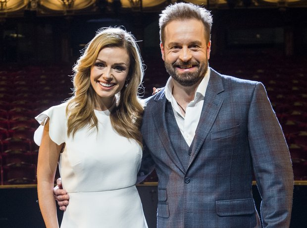 Katherine Jenkins and Alfie Boe in Carousel