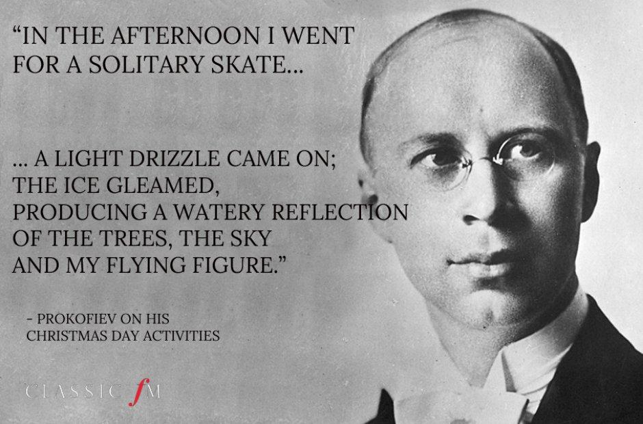 Prokofiev composer letter