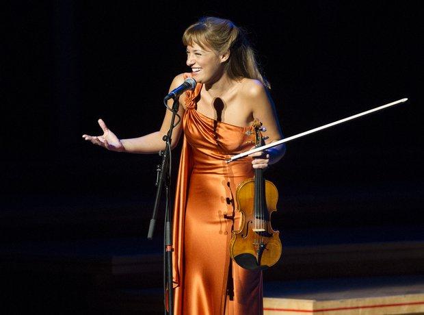 Nicola Benedetti in concert