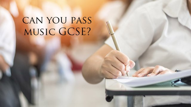 Quiz: would you have passed GCSE Music?