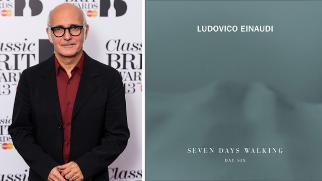 Classic FM Chart: Ludovico Einaudi rules with eight entries, including a new album at No. 2
