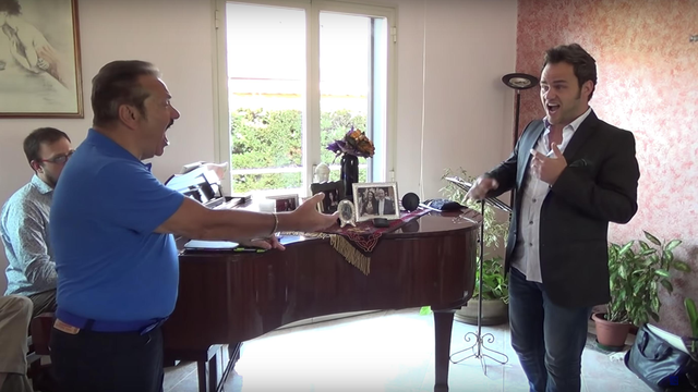 Italian opera star, 70, moves student to tears in viral masterclass video