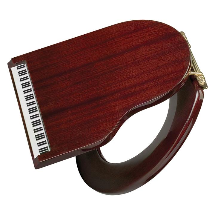 Piano loo seat