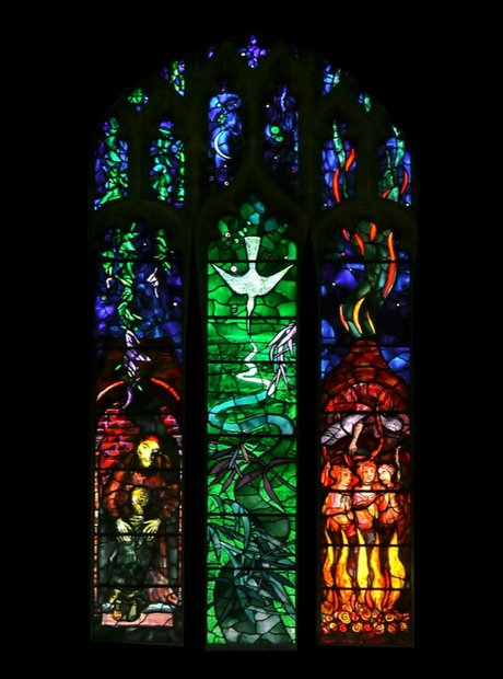 Benjamin Britten memorial window